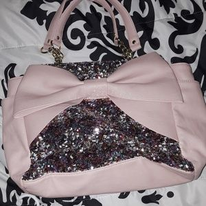 Betsey Johnson sequence handbag